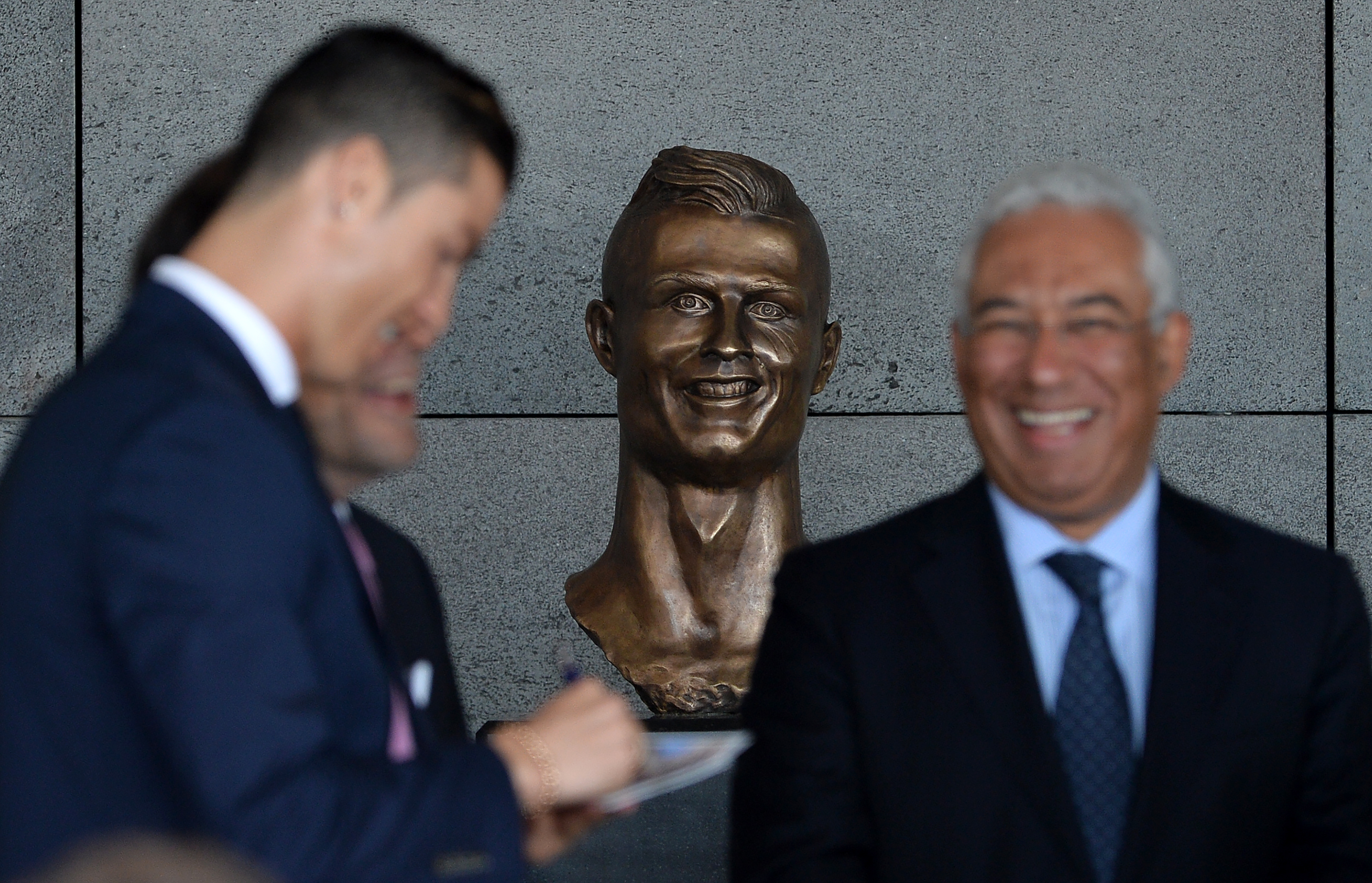 Cristiano Ronaldo gets Madeira airport named in his honour along with 'horrifying' bronze bust of himself.