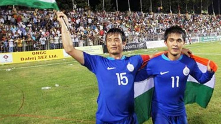 Bhaichung Bhutia launches his first residential football academy!