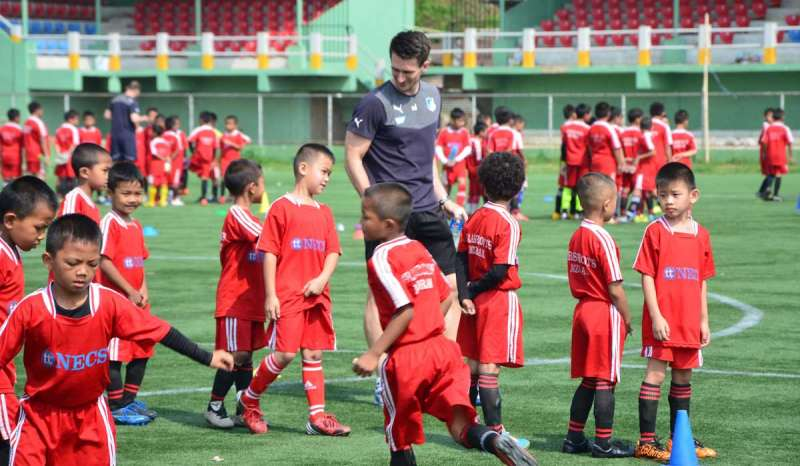 Tata delivers a world class CoE for football in Aizawl!